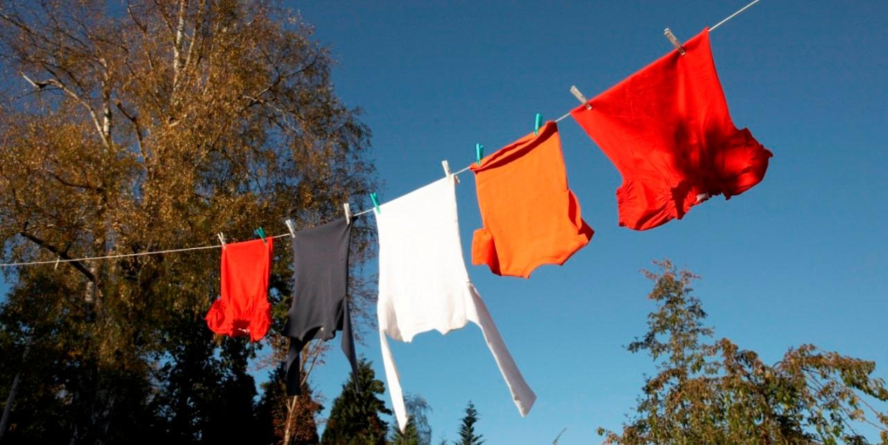 Hänga tvätt