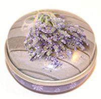 Lavendel rund ask
