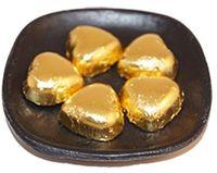 Hjärta med guldpapper lösvikt