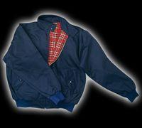 Harrington Jacka - marinblå