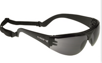 Svarta sportglasögon