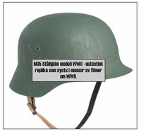 M35 WWII stålhjälm