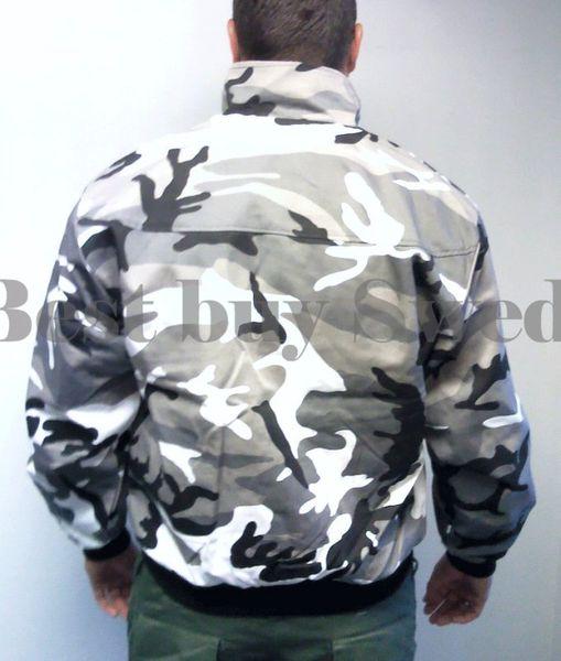 Harrington jacka kamouflage