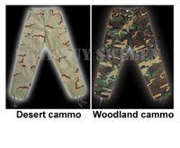 BDU byxor - Desert cammo & woodland cammo