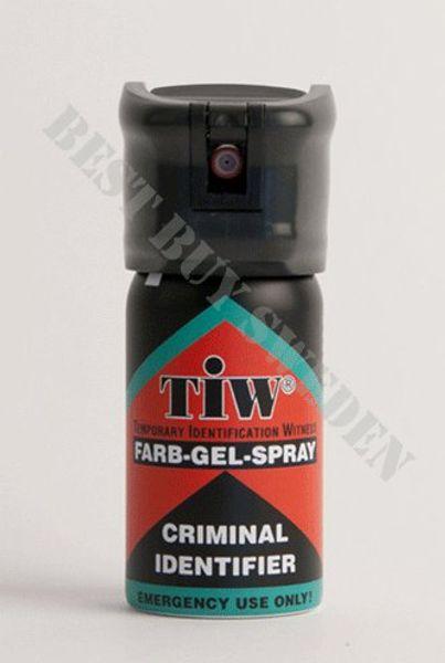 Försvarsspray TIW Criminal identifier  - 10 pack!