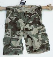 Safari stentvättade shorts