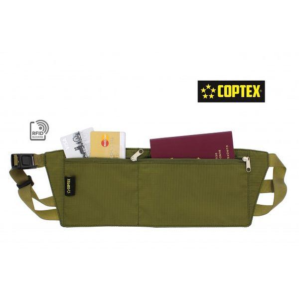 COPTEX Stöldskyddande midjeväska RFID