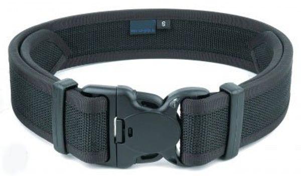 Utrustningsbälte - 45mm - dubbellås med kardborrband på insidan