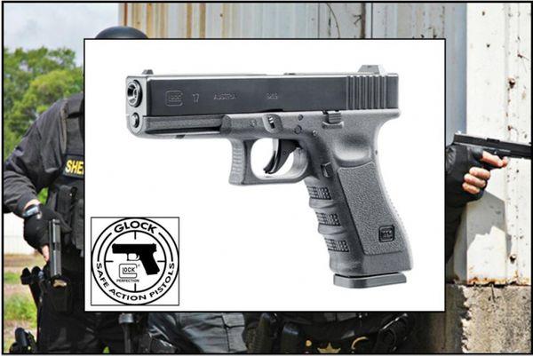 Glock 17 luftpistol blowback
