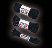 Svarta skosnören - 195cm
