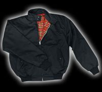 Harrington jacka - Svart