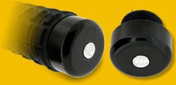Härdat stål bakstycke för ESP batong