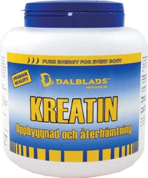 Kreatin - muskel och prestationshöjande