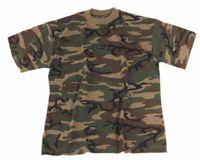 T-SHIRT Woodland Camouflage