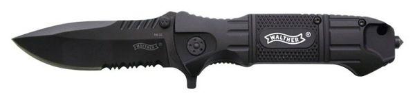 Walther Black Tac - Kniv med glaskrossare