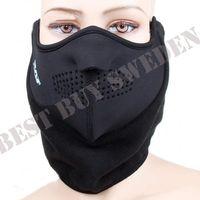 Svart Skyddsmask för ansiktet