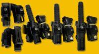 Dubbelhållare för ESP batong + 38mm Försvarsspray/Ficklampa