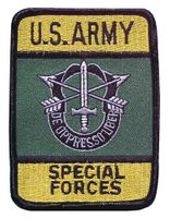 US Army märke av tyg - Special forces