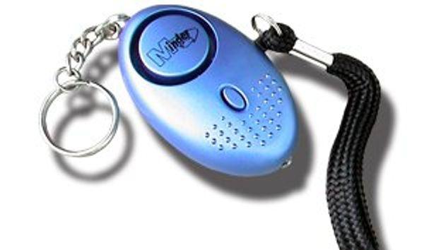 Överfallslarm i trendig design - 140 decibel  siren!