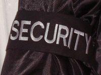 Armbindel för vakter - SECURITY