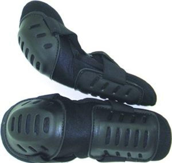 Svarta armskydd 2-pack för polis, OV och vaktpersonal
