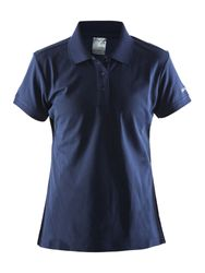 CRAFT CLASSIC PIQUE NAVY W XL
