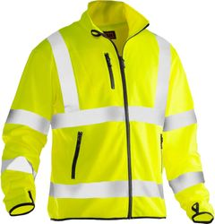 SOFTSHELL LIGHT JACKA VARSEL GUL 3XL