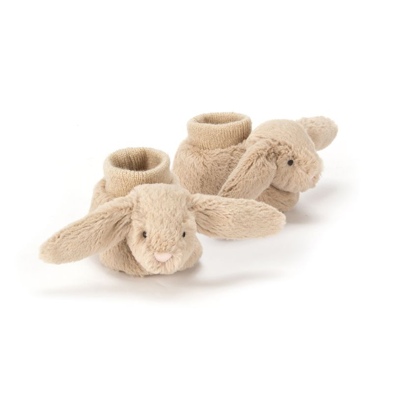 Bashful Beige Bunny Booties