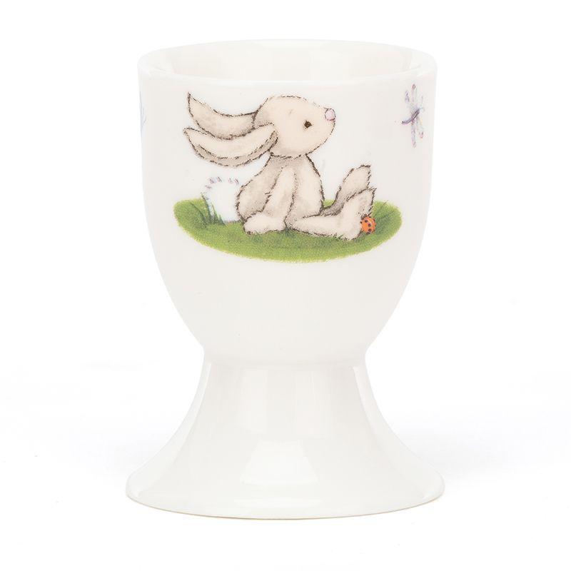 Bashful Beige Bunny Egg Cup