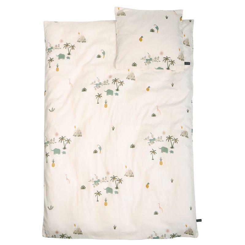Junior Bedding - GOTS - Tropical