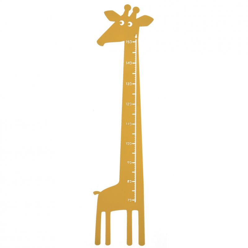 Giraffe Measure Yellow
