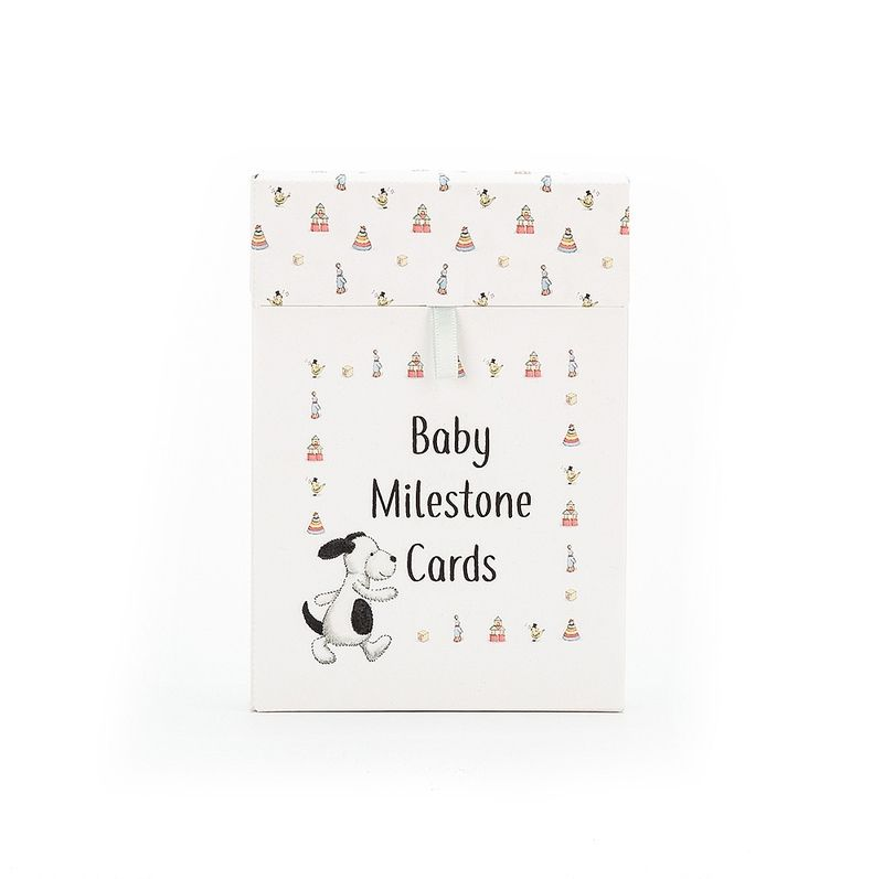 Bashful Puppy Milestone Cards