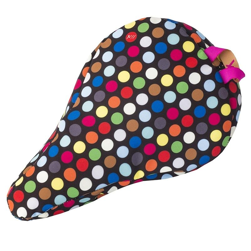 Liix Kids´ Saddle Cover Polka Big Dots Mix Black