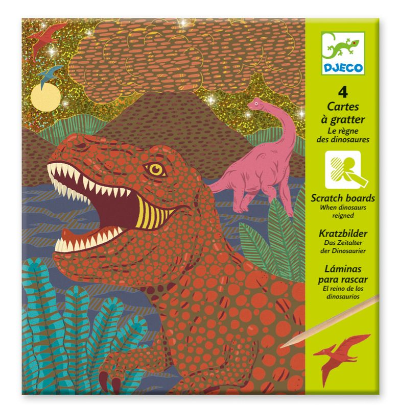 Scratch card, When dinos reigned