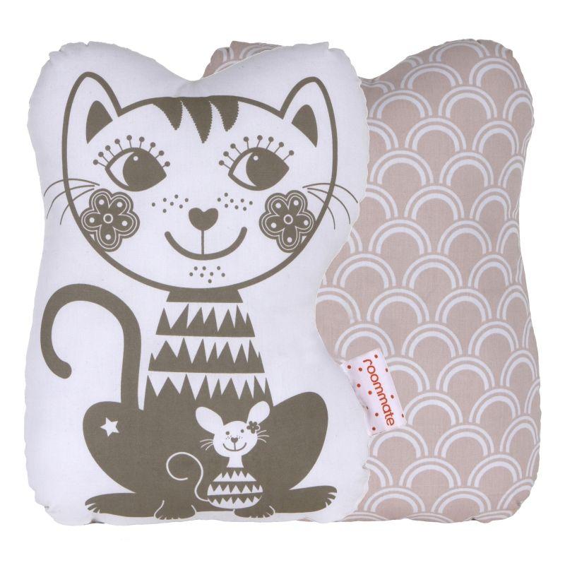 Soulmate Cat Grey / pale rose