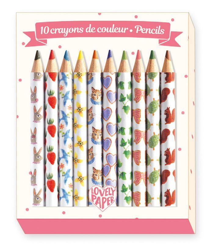 Mini colored pencils Alko
