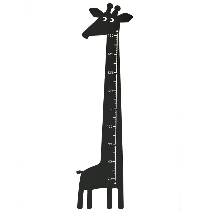 Giraffe Measure Black