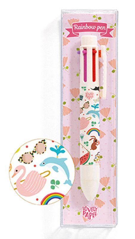 Tinou rainbow pen (6 colors)