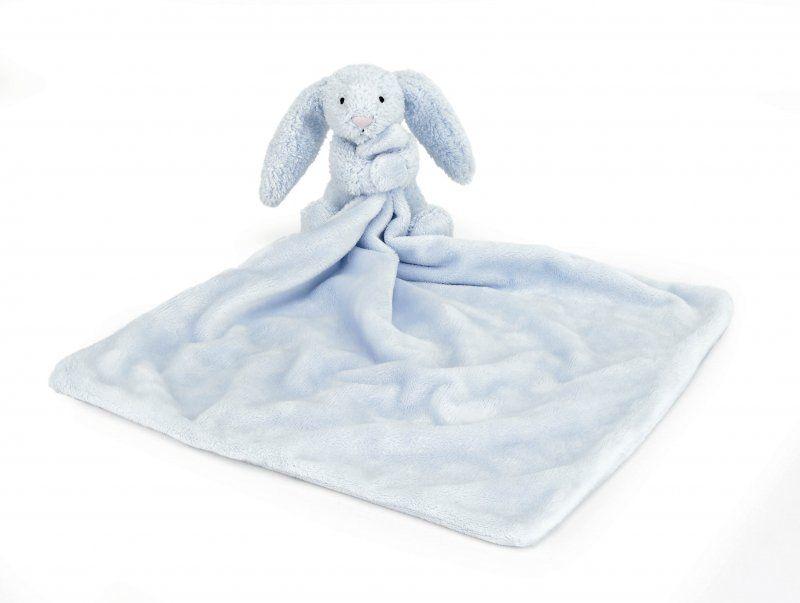 Bashful Blue Bunny Blankie