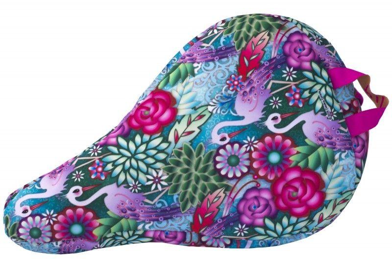 Liix Kids´ Saddle Cover Catalina Estrada Flowers & Flamingos