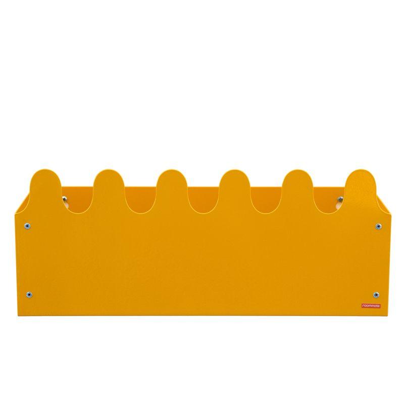 Sinus Box & Coat rack Yellow
