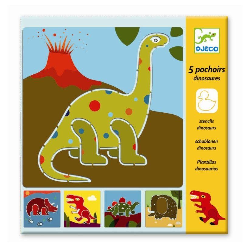 Stencils, Dinosaurs