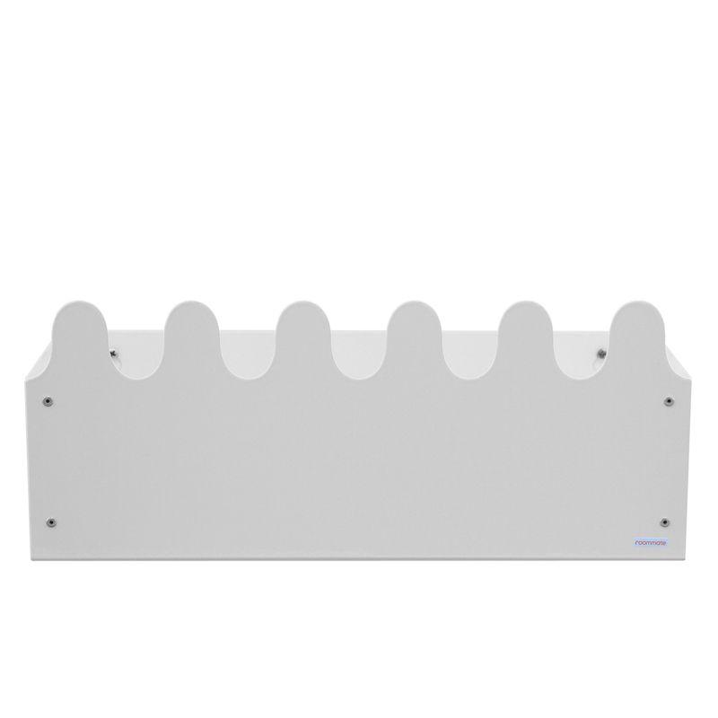 Sinus Box & Coat rack White