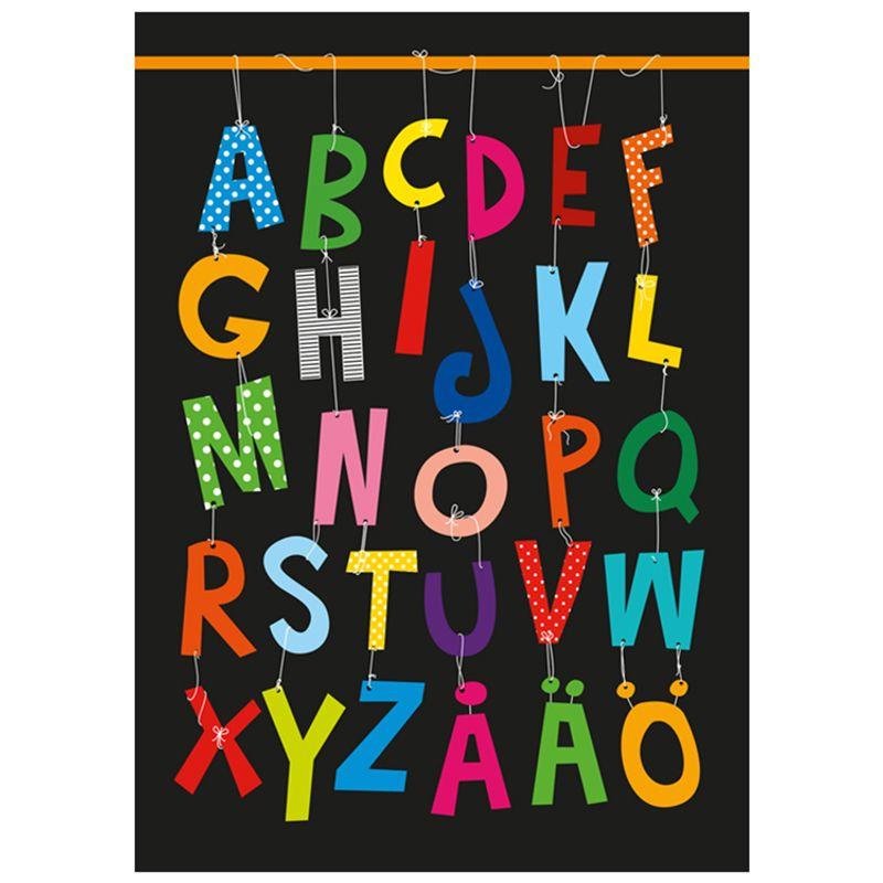 Poster ABC Multi Svart