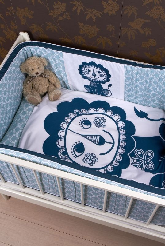 Soulmate Lion , baby Blue / grey-blue