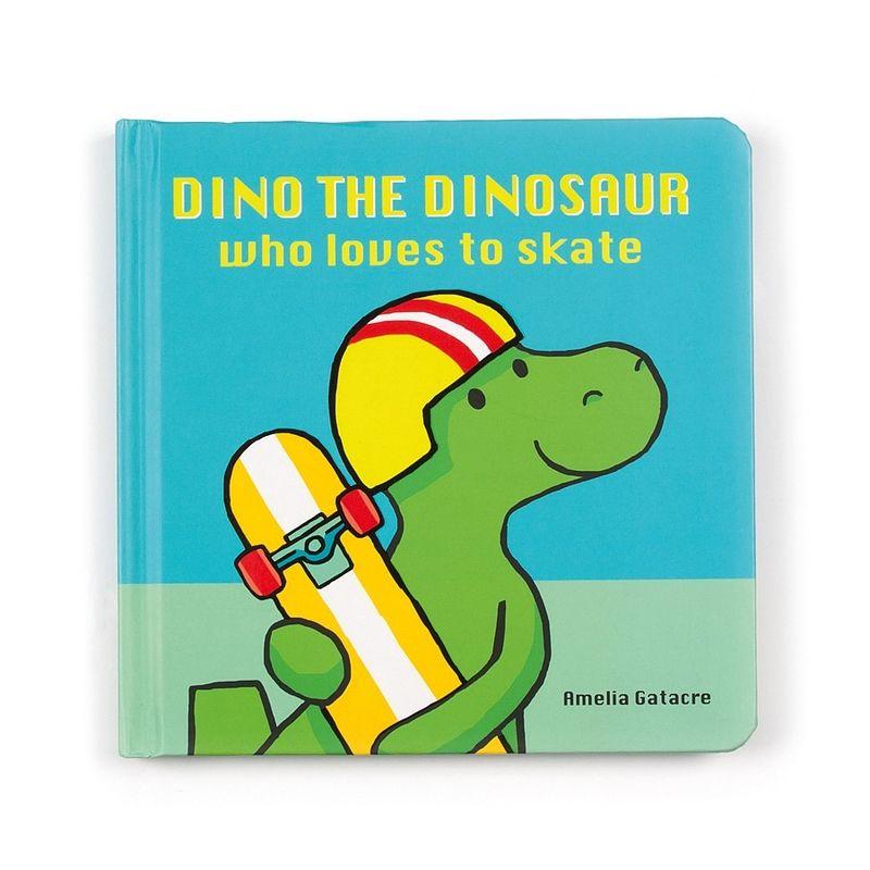 Dino The Dinosaur Who Loves to Skate Book