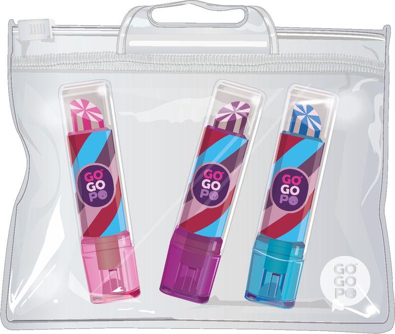 GoGoPo Lipstick Eraser 3pk