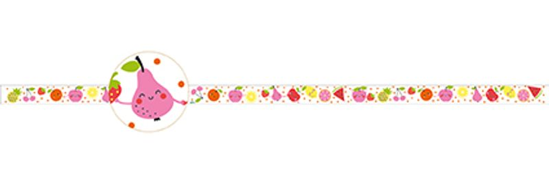 Fruits decorative tape