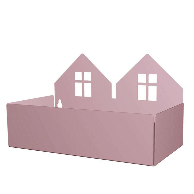 Twin house box, violet