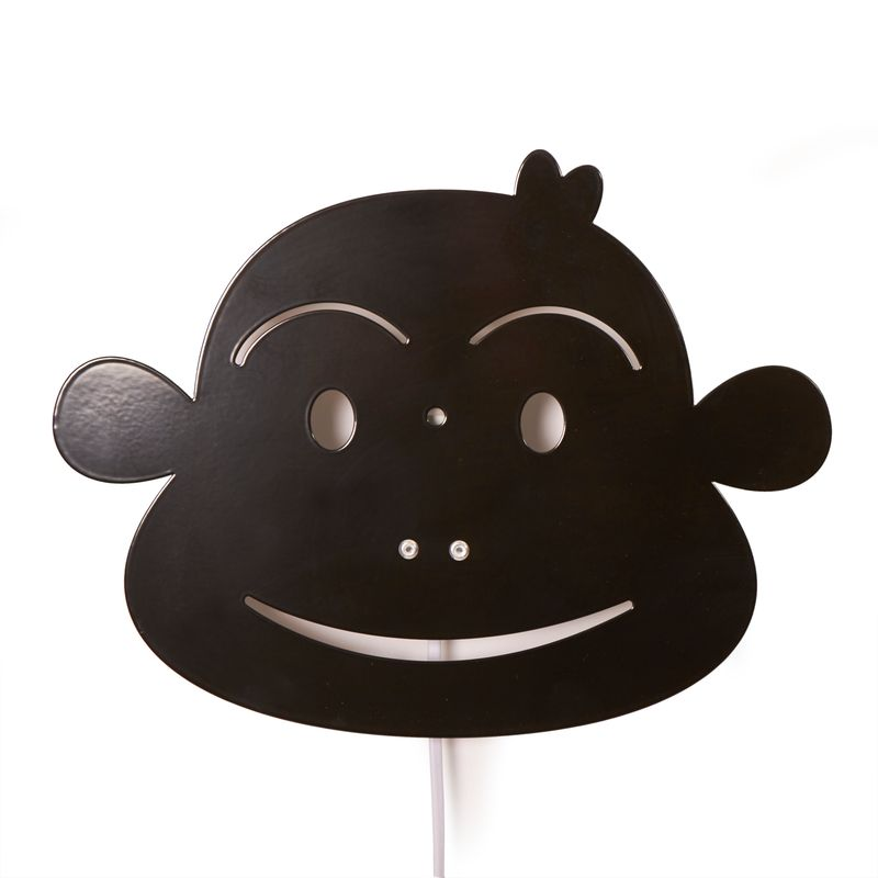 Monkey Lamp - Black